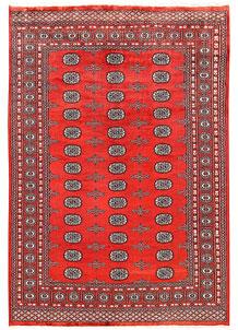 Orange Red Bokhara 6' x 8' 11 - No. 60303