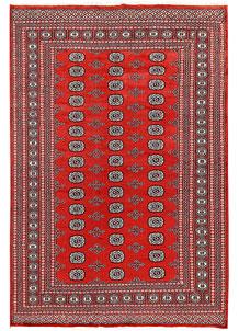 Orange Red Bokhara 6' 1 x 8' 10 - No. 60304