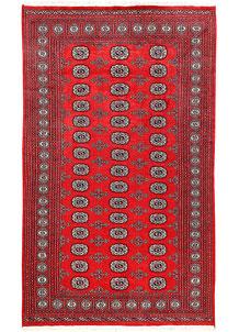 Red Bokhara 4' 11 x 8' 2 - No. 60327