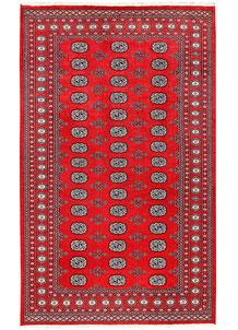 Red Bokhara 5' 2 x 8' 4 - No. 60328