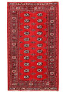 Red Bokhara 5' x 8' 6 - No. 60329