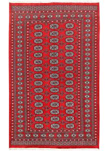Red Bokhara 4' 11 x 8' 1 - No. 60330