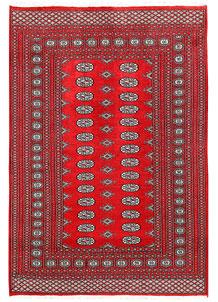 Firebrick Bokhara 5' 1 x 7' 4 - No. 60331