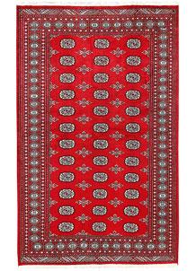 Firebrick Bokhara 5' 1 x 8' 2 - No. 60334
