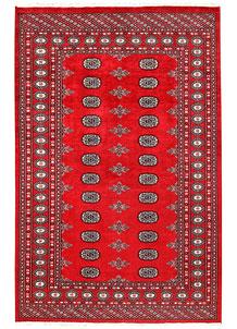 Red Bokhara 5' x 7' 9 - No. 60337
