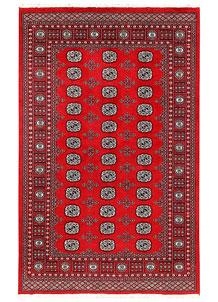 Firebrick Bokhara 5' 1 x 8' - No. 60339