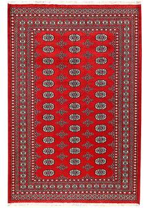 Firebrick Bokhara 5' 3 x 7' 10 - No. 60341