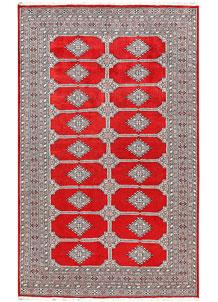 Red Jaldar 5' 2 x 8' 5 - No. 60363