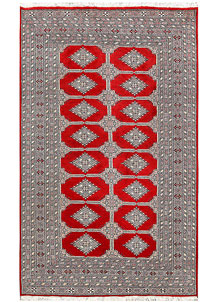 Red Jaldar 5' x 8' 5 - No. 60364