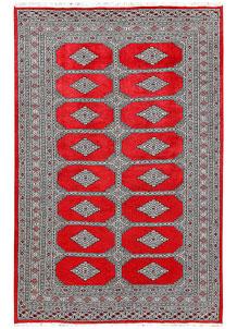 Red Jaldar 4' 11 x 7' 7 - No. 60365