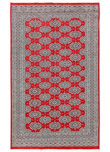 Red Jaldar 5' 1 x 8' 4 - No. 60368