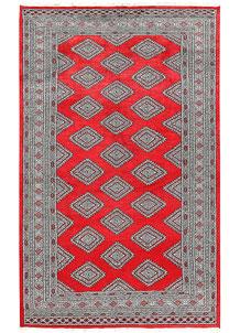 Red Jaldar 5' x 8' 1 - No. 60369