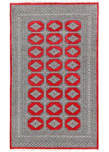 Red Jaldar 5' 2 x 8' 5 - No. 60370