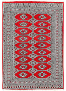 Red Jaldar 5' 1 x 7' 4 - No. 60371