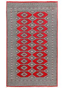 Red Jaldar 5' 1 x 8' 9 - No. 60373