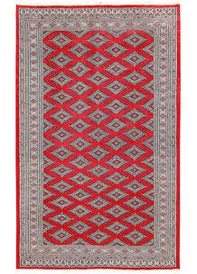 Red Jaldar 5' 1 x 8' - No. 60374