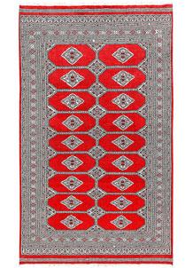 Red Jaldar 5' 1 x 8' 6 - No. 60375