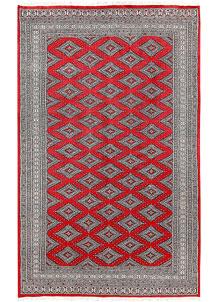 Red Jaldar 5' 1 x 8' 1 - No. 60377