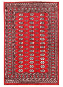 Firebrick Bokhara 5' 5 x 8' 6 - No. 60402