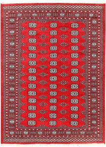 Firebrick Bokhara 5' 8 x 7' 9 - No. 60405