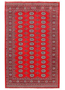 Red Bokhara 5' 7 x 8' 9 - No. 60415
