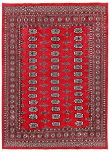 Firebrick Bokhara 5' 6 x 7' 9 - No. 60421