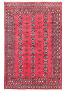 Pink Bokhara 5' 5 x 8' 4 - No. 60422