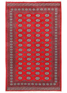 Red Bokhara 5' 7 x 8' 11 - No. 60439