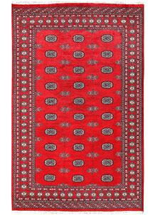 Red Bokhara 5' 7 x 8' 10 - No. 60449