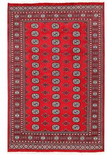 Red Bokhara 5' 6 x 8' 6 - No. 60452