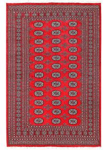 Red Bokhara 5' 6 x 8' 4 - No. 60453