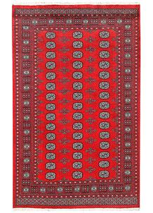 Firebrick Bokhara 5' 7 x 8' 10 - No. 60466