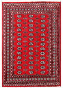 Red Bokhara 5' 8 x 8' 2 - No. 60471