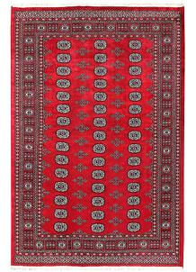 Firebrick Bokhara 5' 7 x 8' 2 - No. 60480