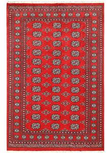 Firebrick Bokhara 5' 4 x 8' 5 - No. 60518
