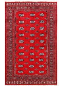 Firebrick Bokhara 5' 5 x 8' 11 - No. 60540