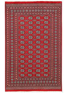 Firebrick Bokhara 5' 7 x 8' 8 - No. 60542