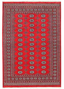 Red Bokhara 5' 7 x 8' 2 - No. 60558
