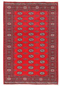 Firebrick Bokhara 5' 7 x 8' 3 - No. 60571