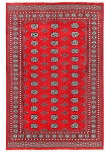 Firebrick Bokhara 5' 6 x 8' 2 - No. 60572