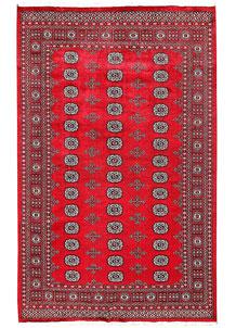 Firebrick Bokhara 5' 5 x 8' 5 - No. 60579