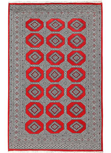 Red Jaldar 5' 6 x 8' 9 - No. 60600