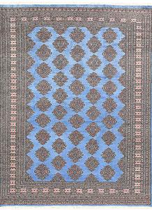 Cornflower Blue Jaldar 5' 9 x 7' 5 - No. 60638