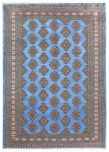 Cornflower Blue Jaldar 5' 9 x 8' - No. 60639