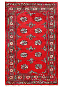 Firebrick Bokhara 4' 6 x 7' 1 - No. 60701