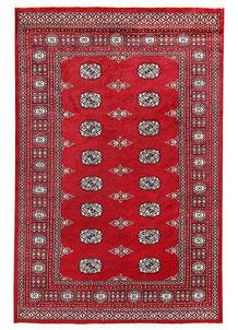Firebrick Bokhara 4' 7 x 6' 11 - No. 60774