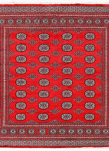 Red Bokhara 6' 4 x 6' 8 - No. 60791