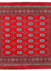 Red Bokhara 5' 11 x 5' 9 - No. 60793