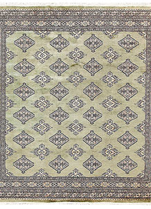 Olive Jaldar 6' 9 x 6' 11 - No. 60847