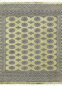 Olivedrab Bokhara 6' 9 x 7' - No. 60849